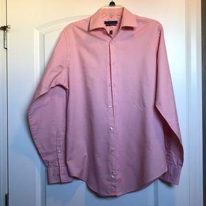 Geoffrey Beene wrinkle free men's L dress shirt